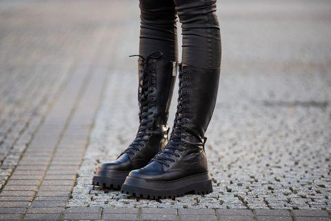 nuovo di zecca 08838 26432 Stivali inverno 2019, quelli Zara in pelle platform = moda easy