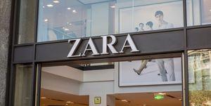 Zara nieuw logo