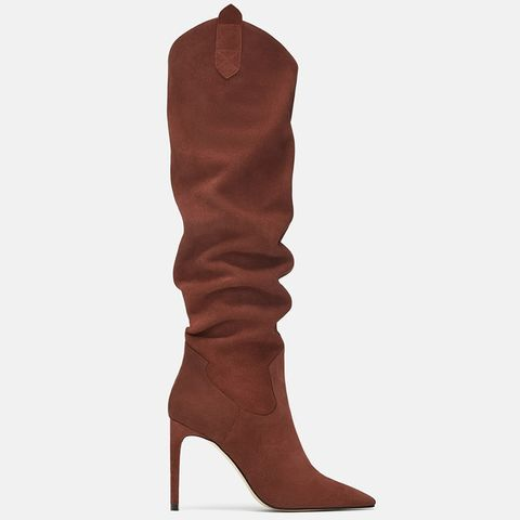 125a946d488 Amanda Holden s Zara knee-high boots are perfect for autumn