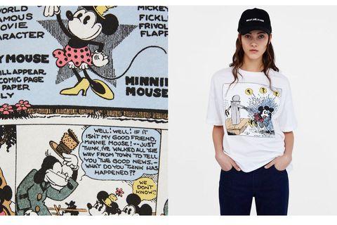 ff8f89ed7 Zara. Las apasionadas del mundo Disney están de suerte porque Zara tiene  las camisetas de Mickey Mouse ...