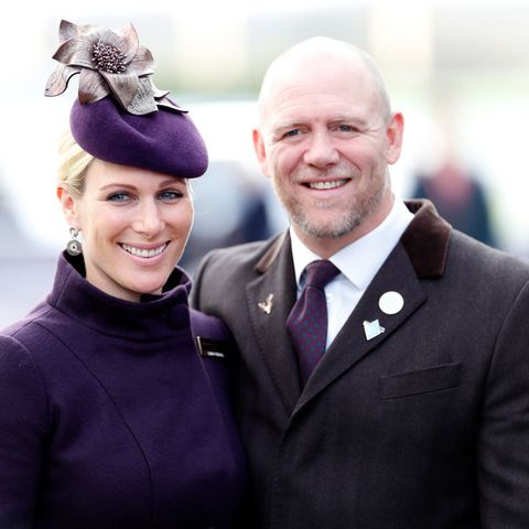 zara tindall and mike tindall clap for nhs outside home
