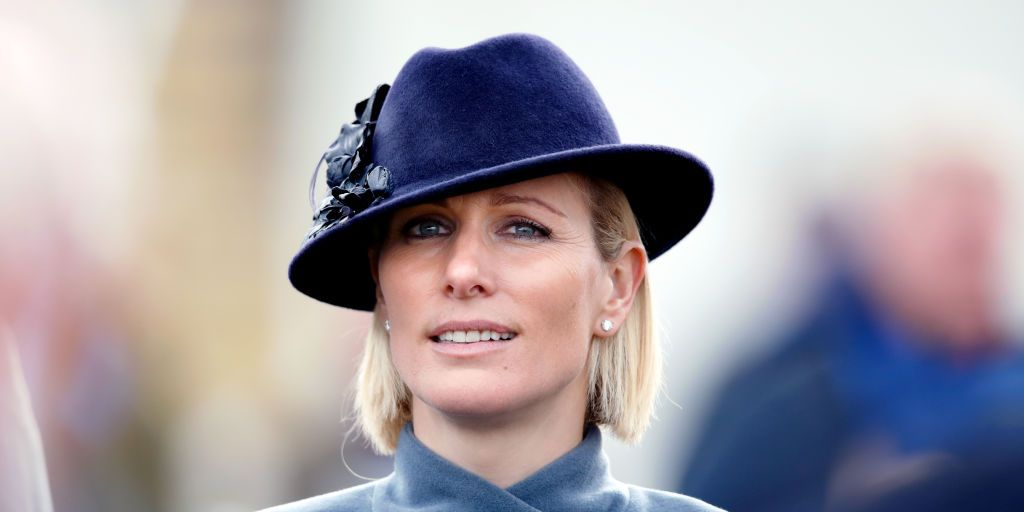 Zara Tindall reacts to her grandmother the Queen's speech