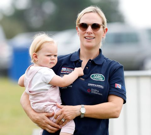 Zara and Lena Tindall at the 2019 Festival of British Eventing
