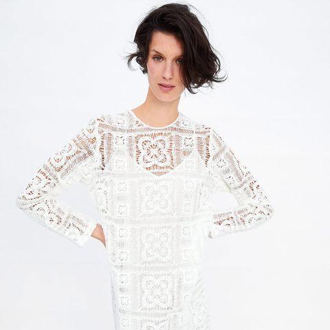 116bd65d0 Zara, crochet, vestido crochet, camiseta crochet, zara crochet, zara  vestido,