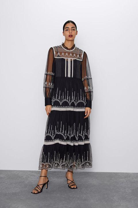pregevole fattura accogliente fresco davvero economico Vestiti inverno 2019, quello midi Zara che sembra Dior moda