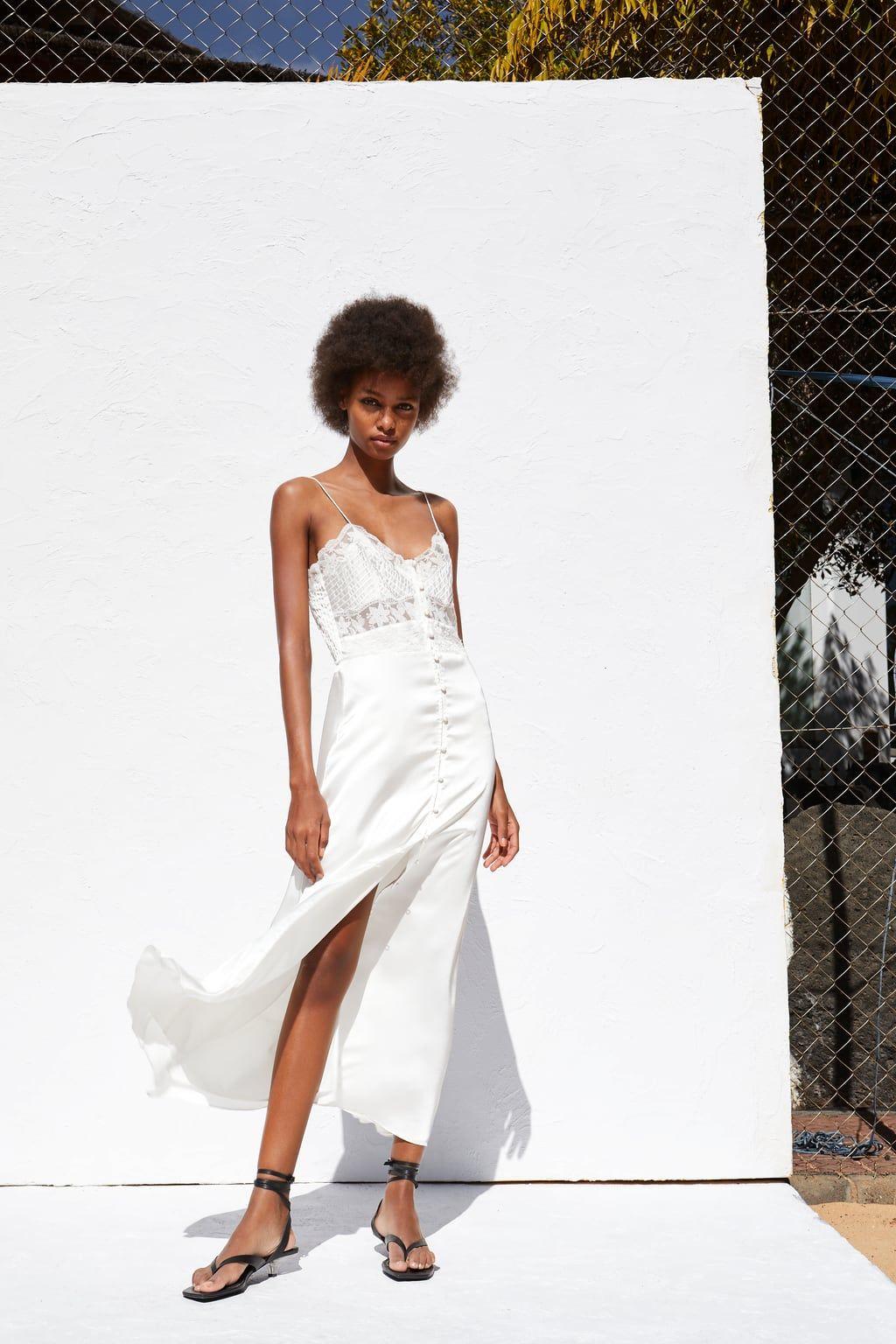 Zara, il vestito da sposa stile vintage per il 2019 esiste