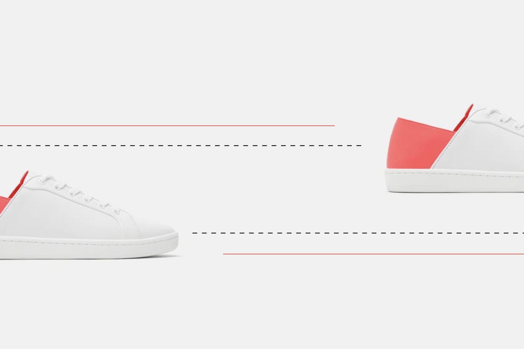 e43052c7d Las zapatillas blancas de Zara que llevarás como mules esta primavera