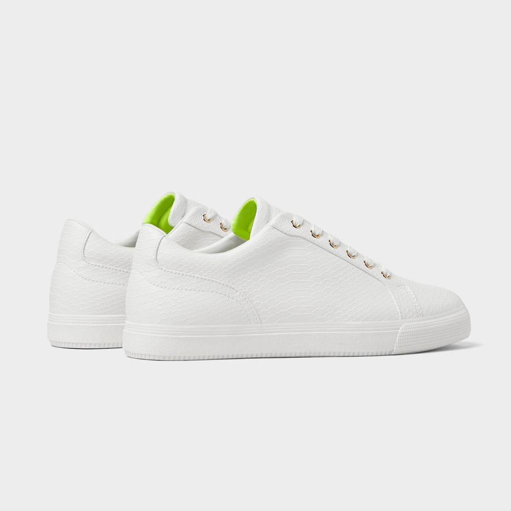 Zapatillas blancas hombre, zara, zara man