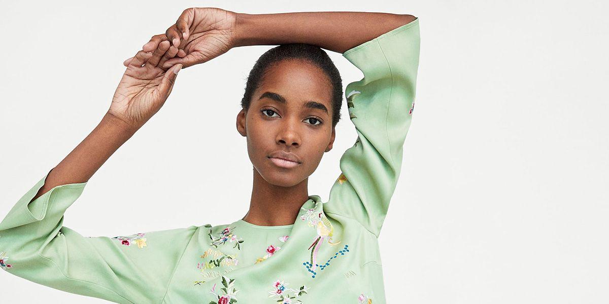 Zara El 'top' de Zara que rescata el mantón de Manila