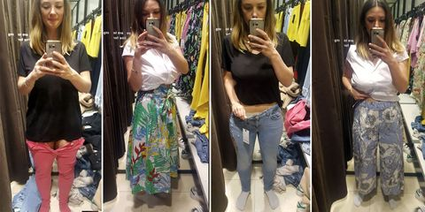 e1b6d8ad4 I tried 10 items in Zara and was five different sizes