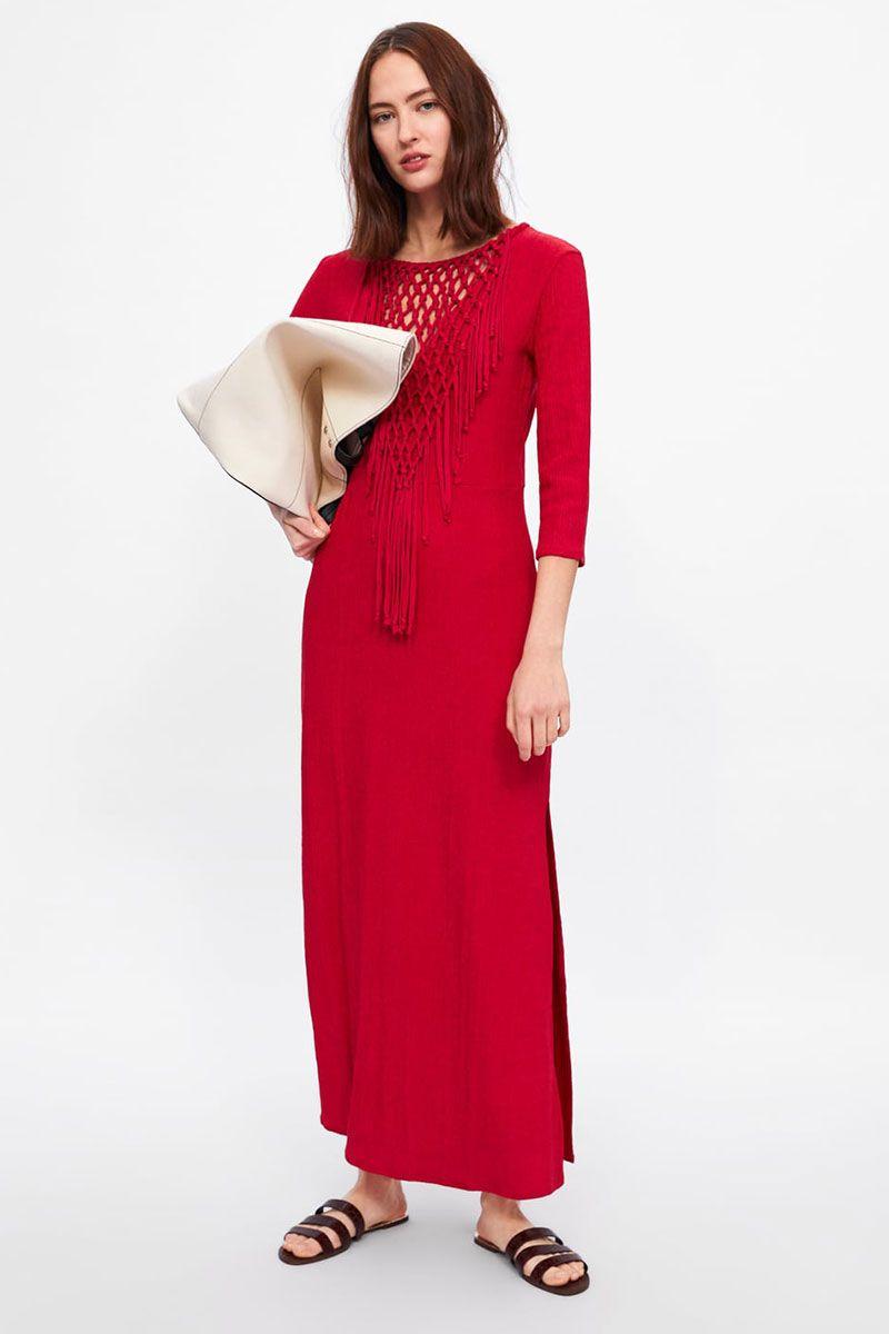 298bc8d9 Zara Floral Maxi Dress 2017 | Saddha