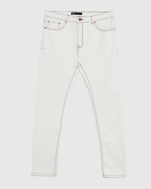 Jeans, White, Clothing, Denim, Beige, Trousers, Pocket, Textile, sweatpant, Active pants,