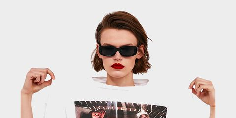 Eyewear, Sunglasses, Hair, Glasses, Face, Cool, Beauty, Nose, Hairstyle, Chin,