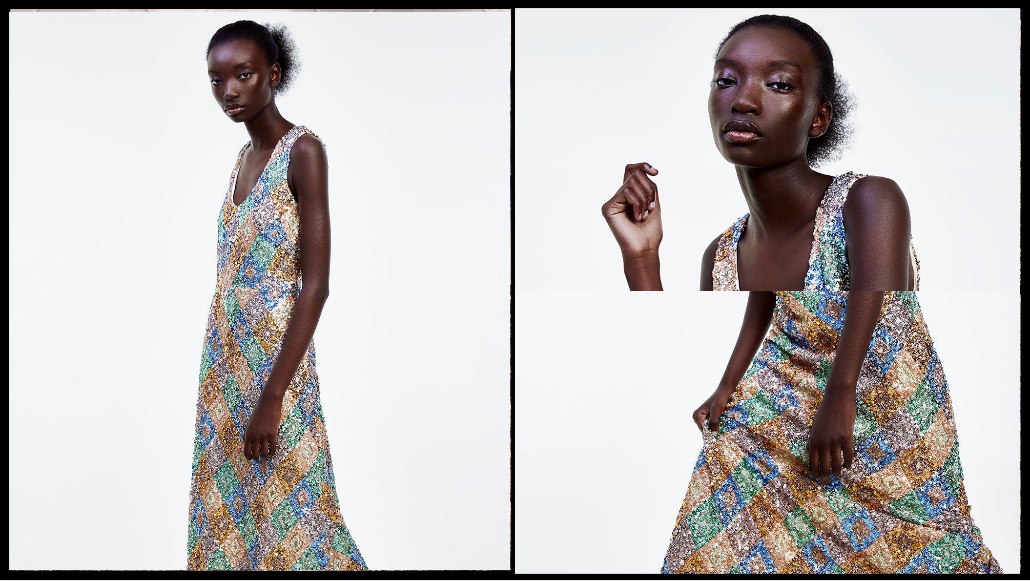 Este vestido edición limitada de Zara ya tiene lista de espera