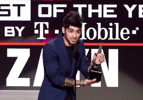 Zayn AMA win 2016