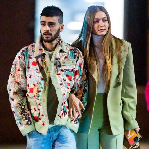 Gigi Hadid Posts First New Kissing Photo With Zayn Malik