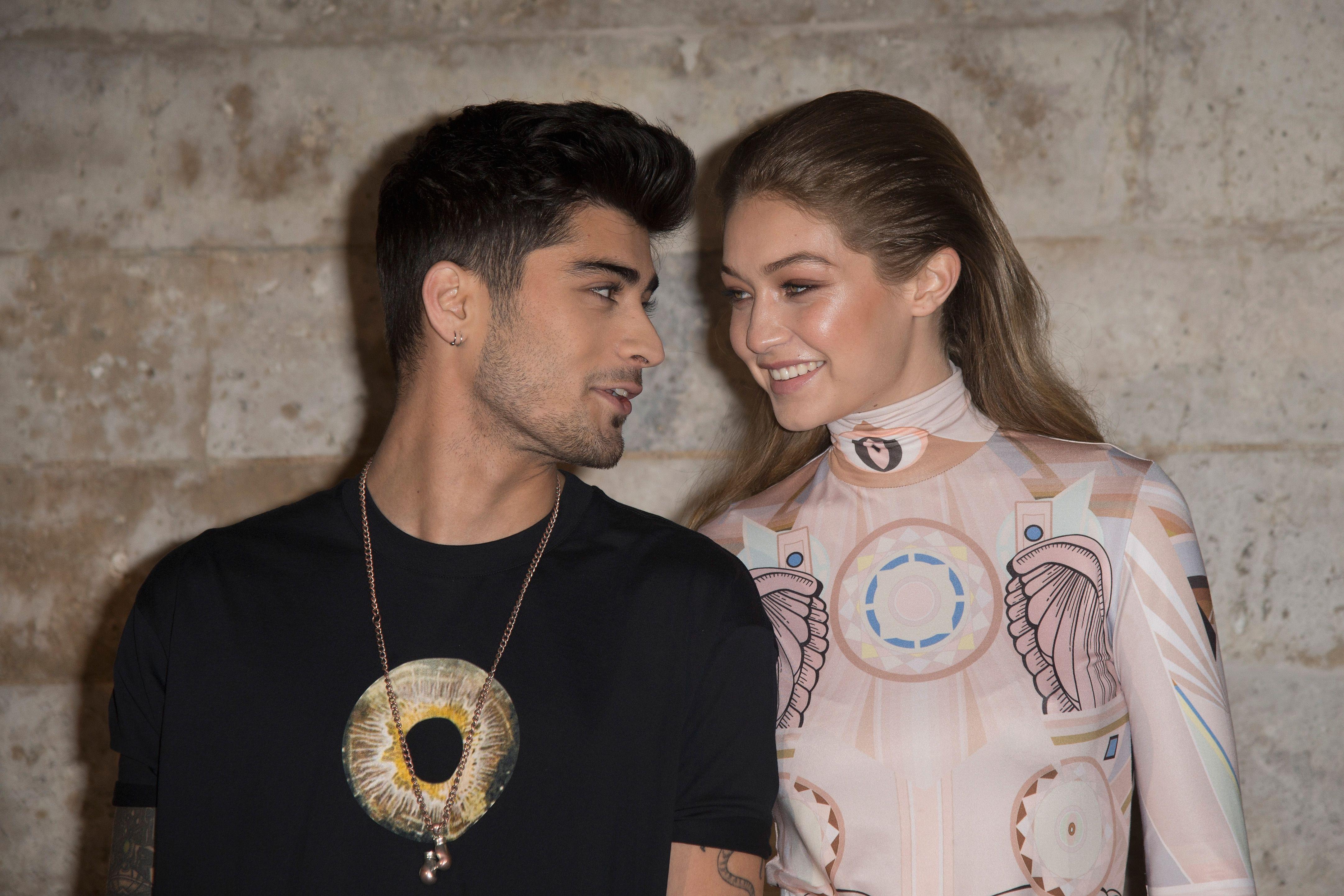 Gigi Hadid Went Instagram Official With Zayn Malik Again for Valentine's Day
