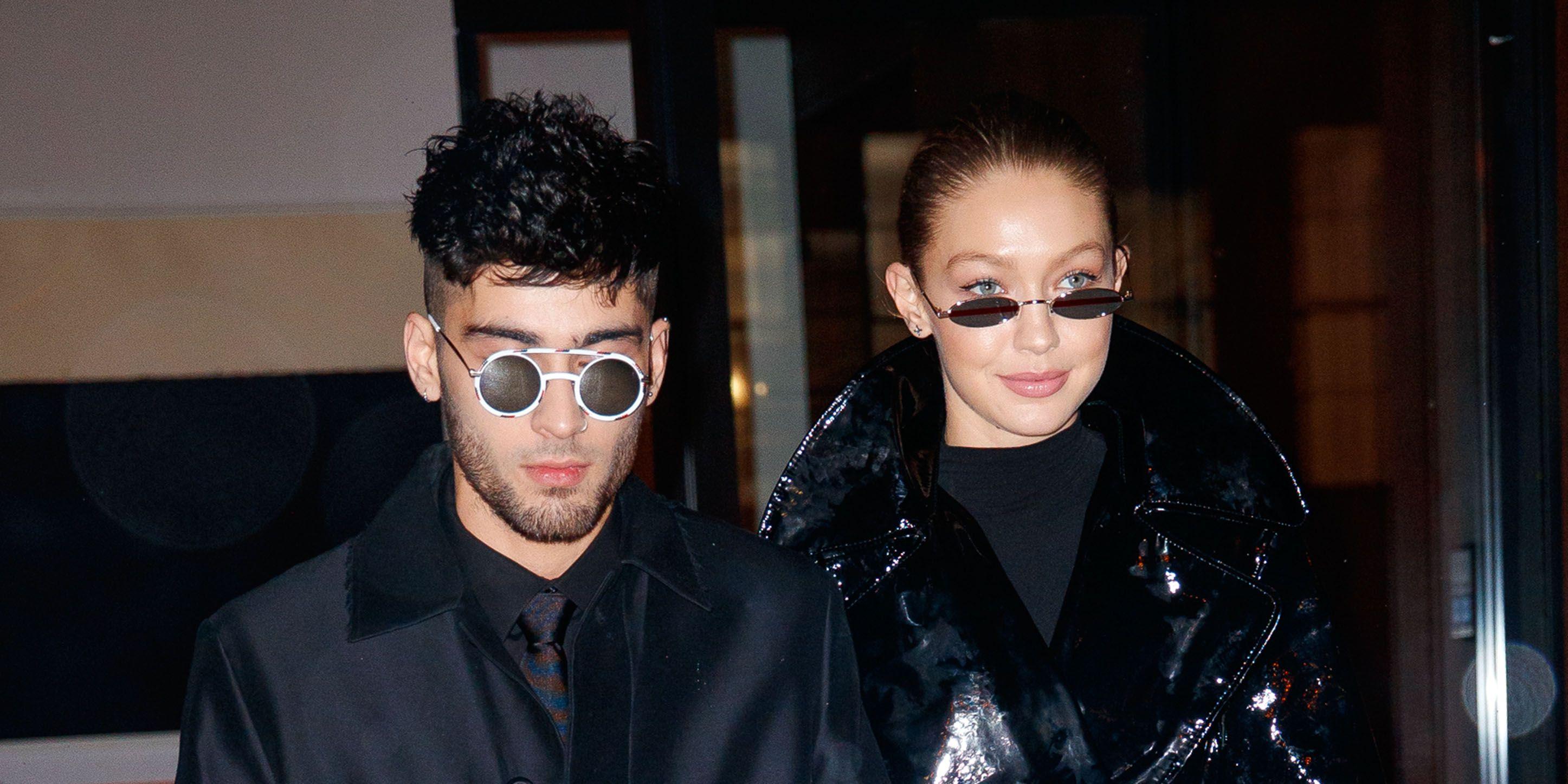 Gigi Hadid en Zayn Malik uitelkaar