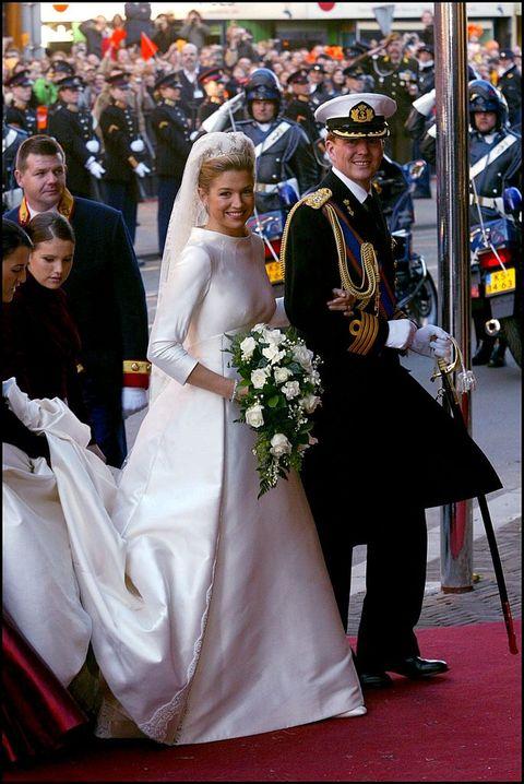 zeldzame foto's bruiloft willem alexander máxima