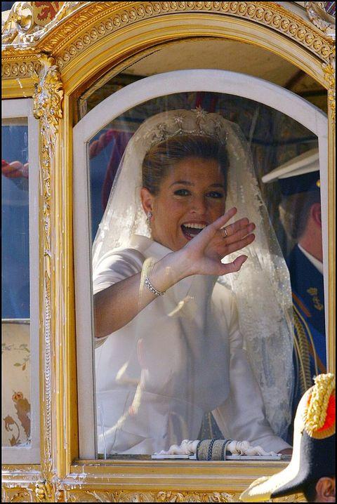 zeldzame foto's bruiloft willem alexander máxima 2002  máxima