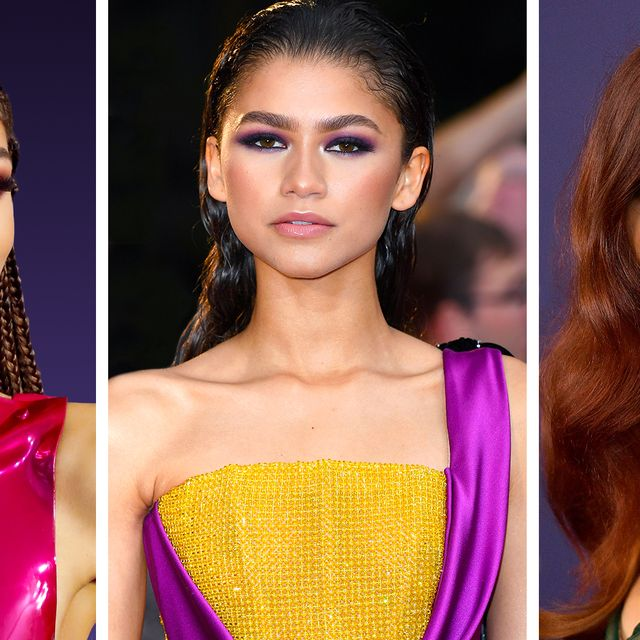Zendaya S Beauty Evolution Throughout The Years The Actress Best Beauty Moments Since The Start Of Her Career