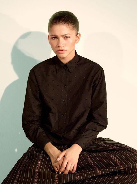 Zendaya Cr Fashion Book Mario Sori