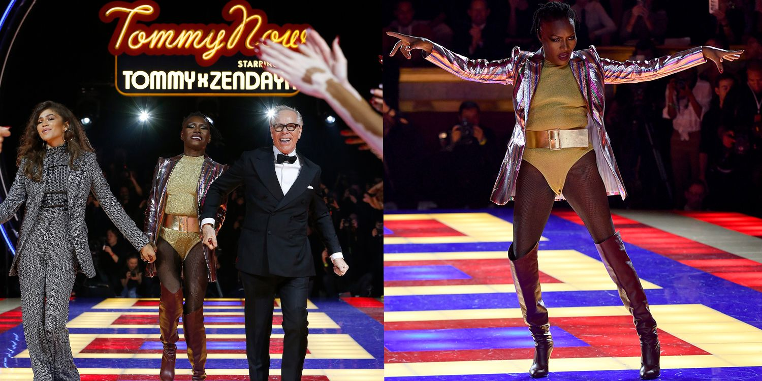 Tommy X Zendaya Launches At Paris Fashion Week With Roller Disco