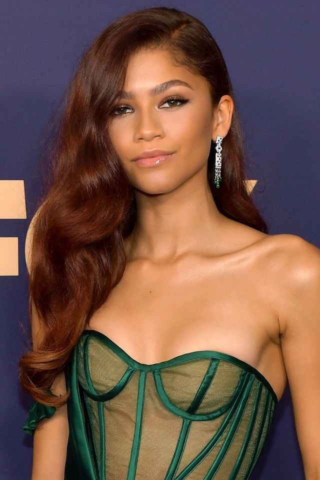 los angeles, california   september 22 zendaya attends the 71st emmy awards at microsoft theater on september 22, 2019 in los angeles, california photo by matt winkelmeyergetty images