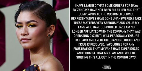 b86e8bb226223 Zendaya Leaves the Company That Runs Her Clothing Line After Backlash From  Fans