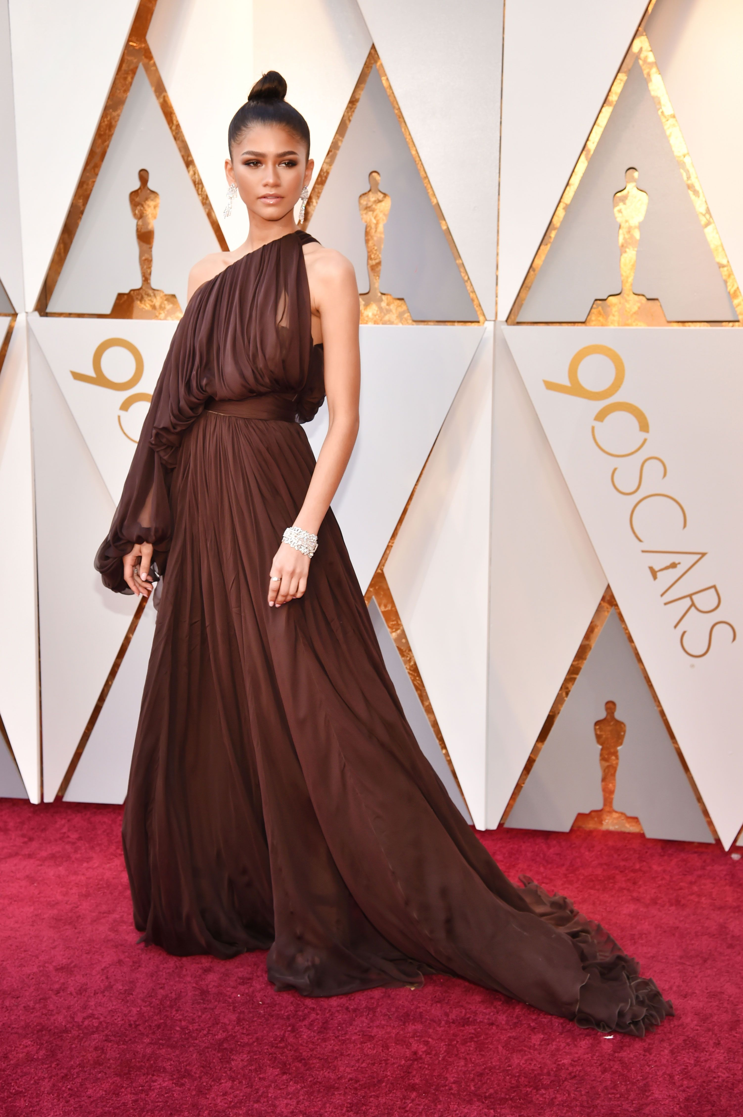 Best Oscars Red Carpet Dresses 2018 Style From Academy Awards