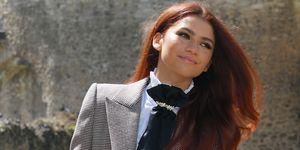Zendaya red hair transformation