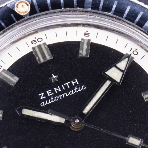 zenith sub sea dive watch