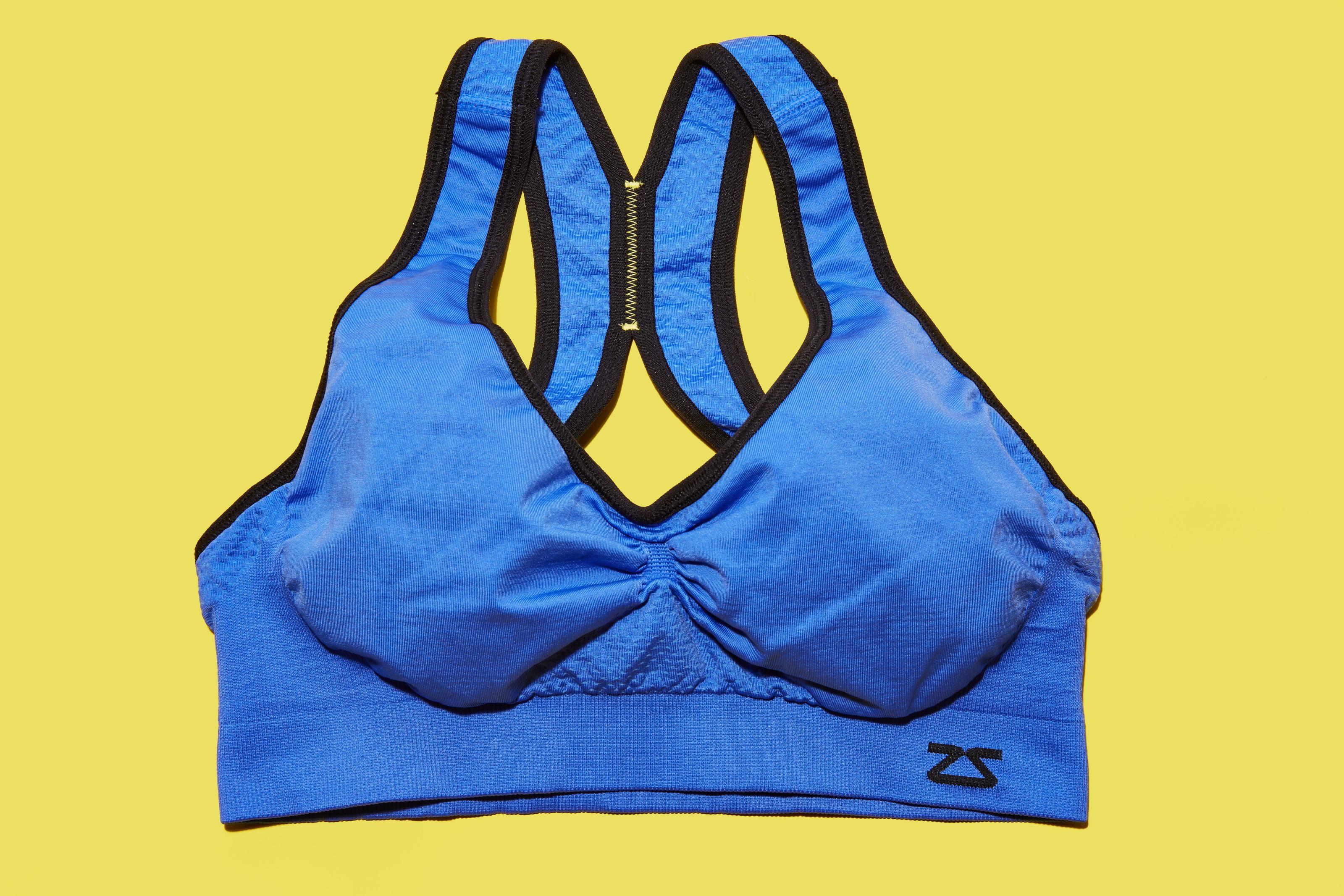 bc01d45477a25 Zensah Gazelle Sports Bra - High Support Sports Bra for Runners