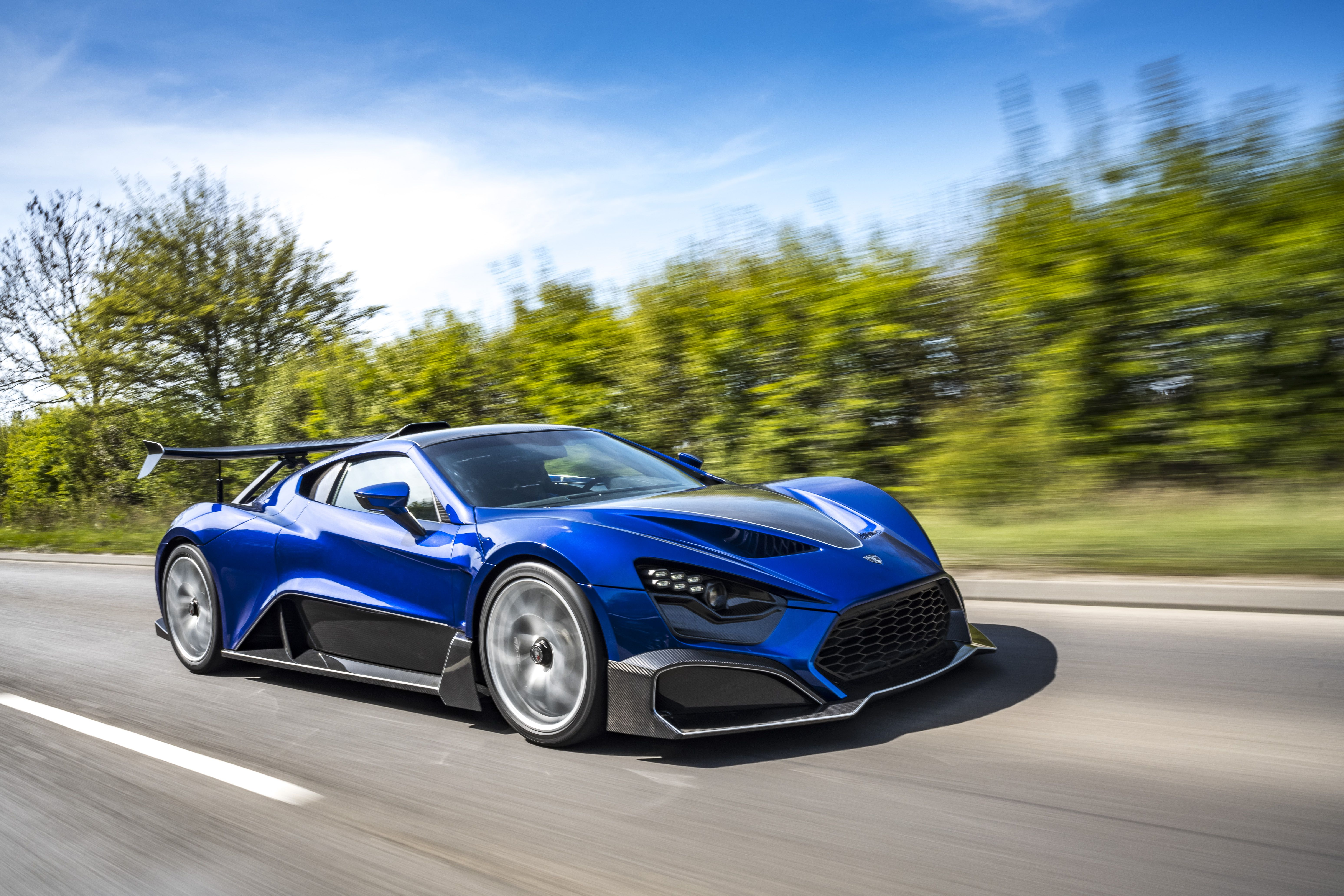 The Zenvo TSRS Is a Nutty Track Rat With a Weird Tilting Rear Wing