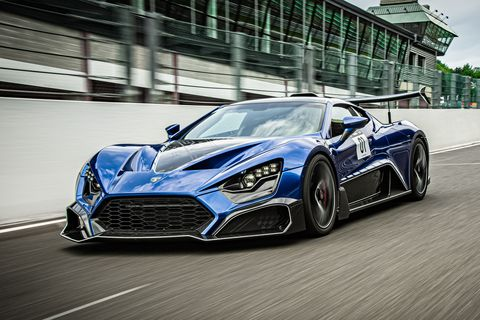 Zenvo TSR-S Is a Wild Hypercar with an Even Wilder Rear Wing