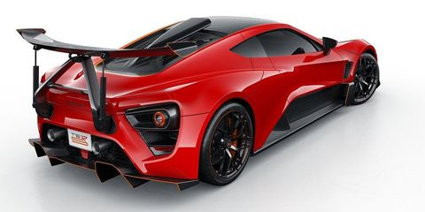 Zenvo S Crazy Tilting Rear Wing Would Make A Car Handle Worse