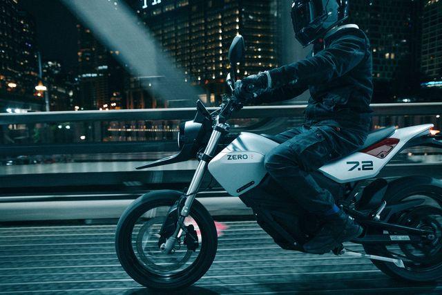 zero motorcycles fxe 2022