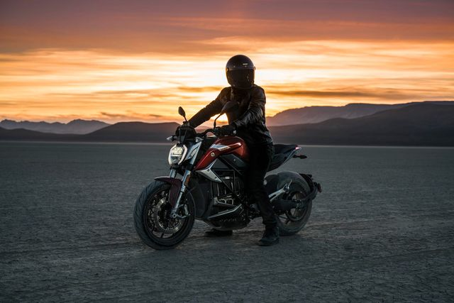 zero srf electric motorcycle