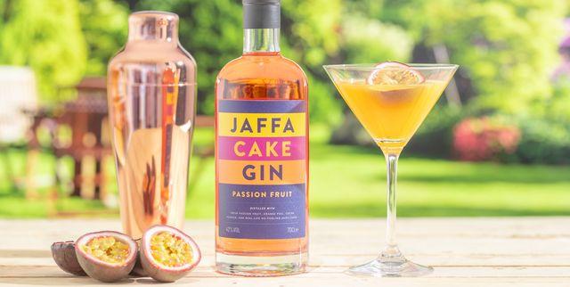 zesty spirits jaffa cake passion fruit gin