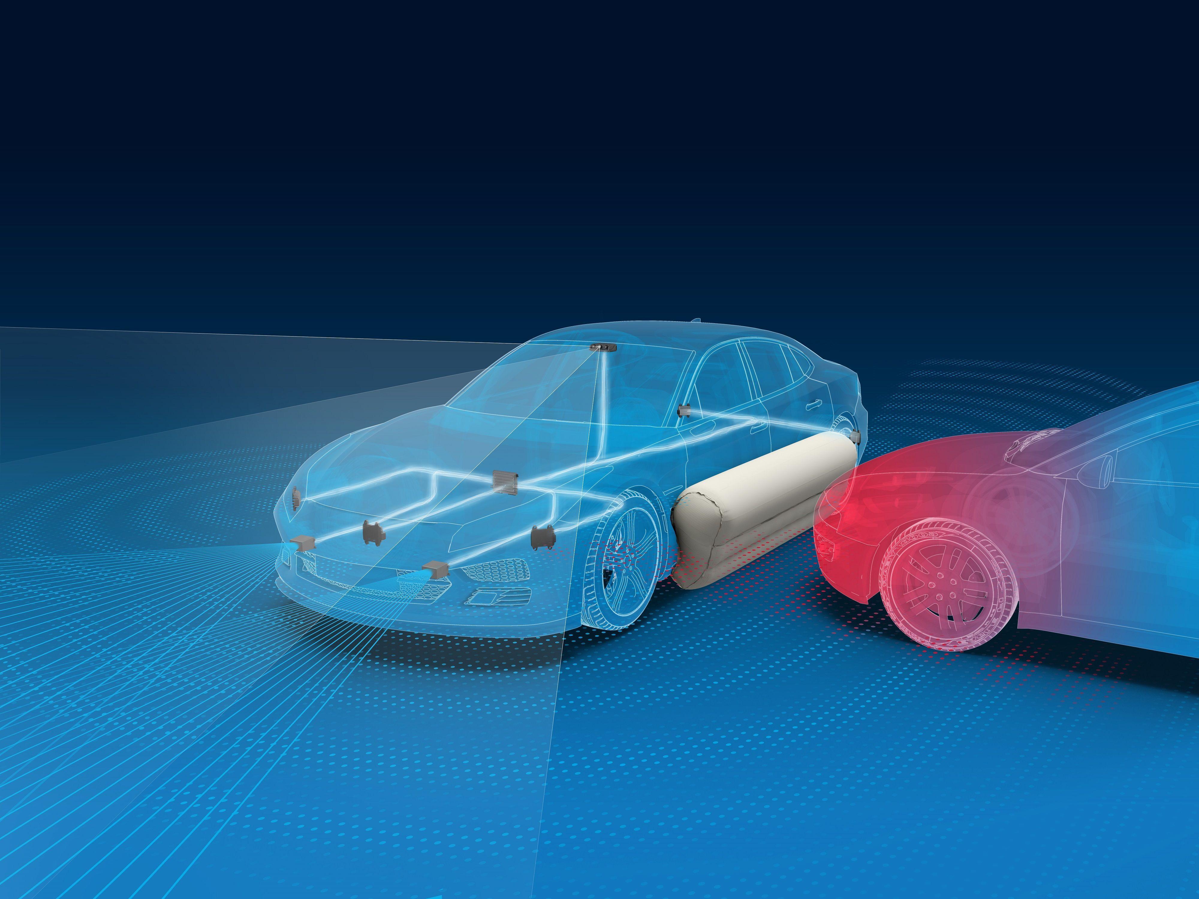 Gli airbag del futuro sono all'esterno
