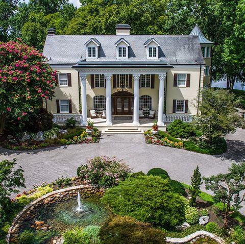 Property, House, Home, Estate, Building, Real estate, Garden, Mansion, Botany, Architecture,