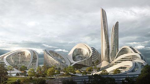 La futuristica smart city di Zaha Hadid Architects in Russia
