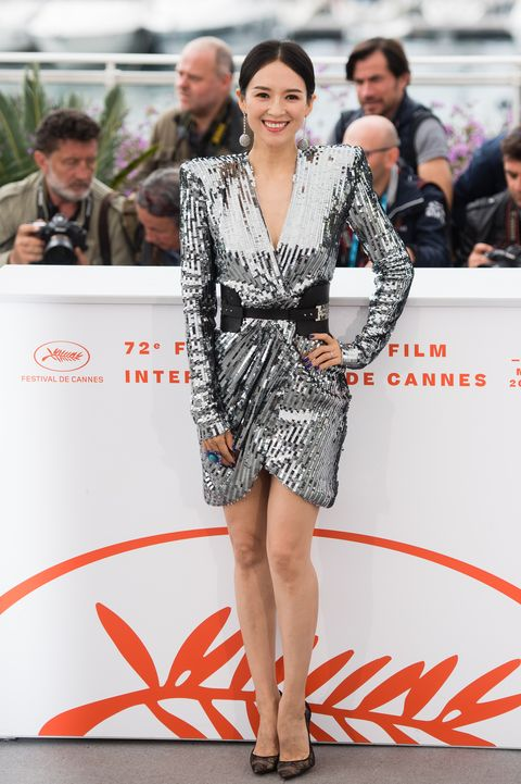 """""""Rendez Vous With Zhang Ziyi"""" Photocall -  The 72nd Annual Cannes Film Festival"""