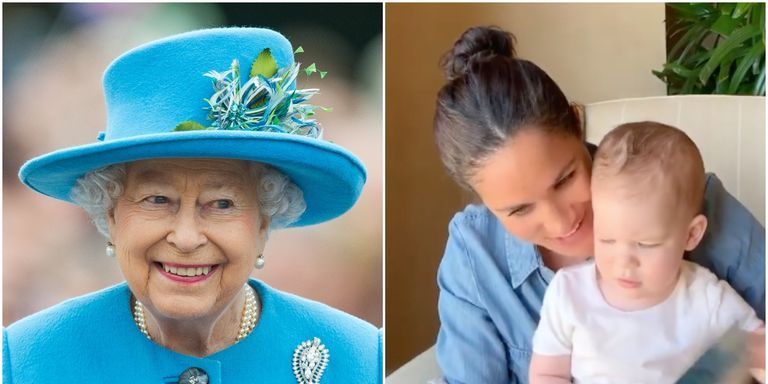 The Queen Noted That Archie Has Prince Harry's Red Hair During a Video Call