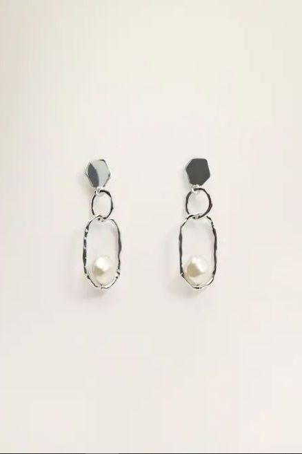 Earrings, Jewellery, Fashion accessory, Body jewelry, Silver, Silver, Metal,