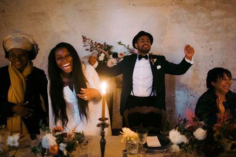les toasts de mariage