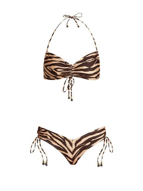 Zimmerman tiger bikini