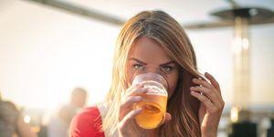 calorieen bier boterham