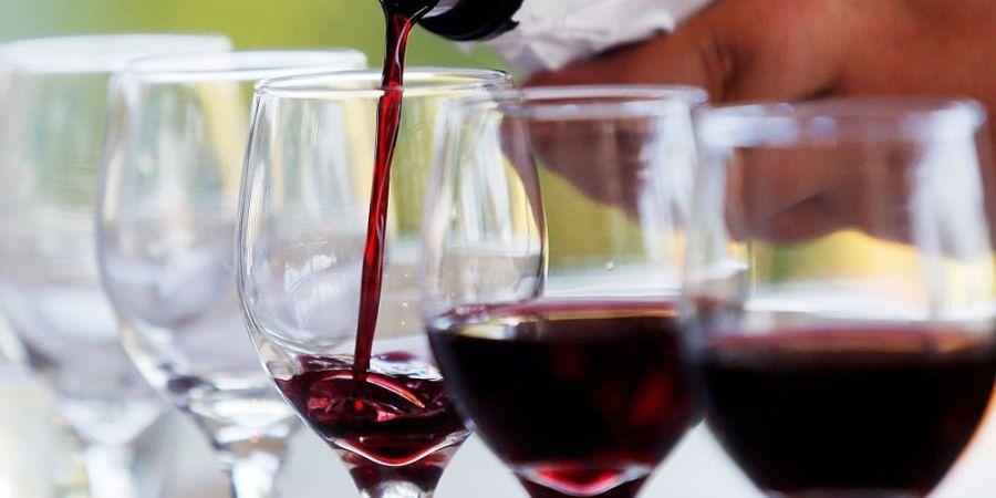 afvallen met rode wijn