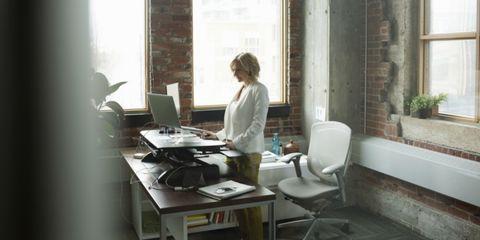 Bureau En Zo.Zo Gezond Is Een Zit Sta Bureau Voor Je